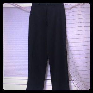 Simple straight leg, black dress pant size 14-16